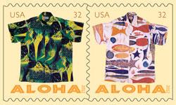 Hawaiian aloha wear by Alfred Shaheen
