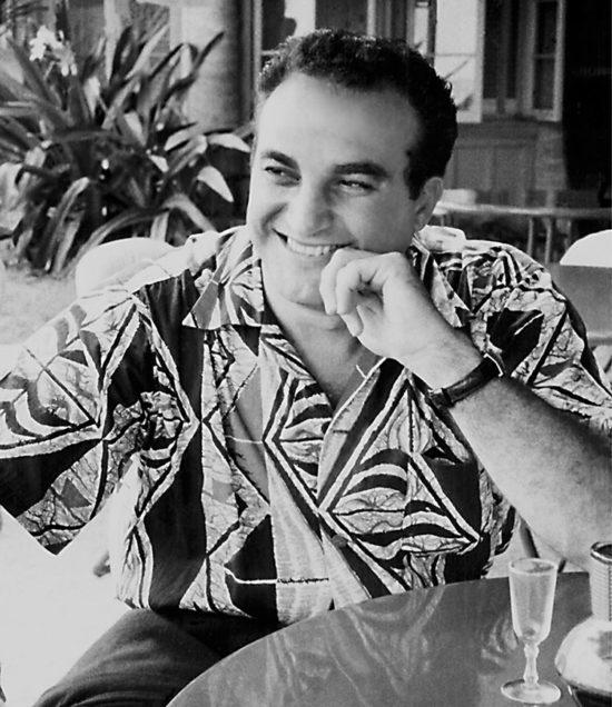 Alfred Shaheen in Samoan Tapa