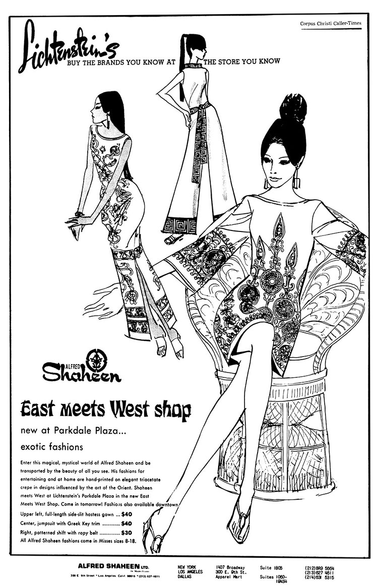 Alfred Shaheen - East Meets West