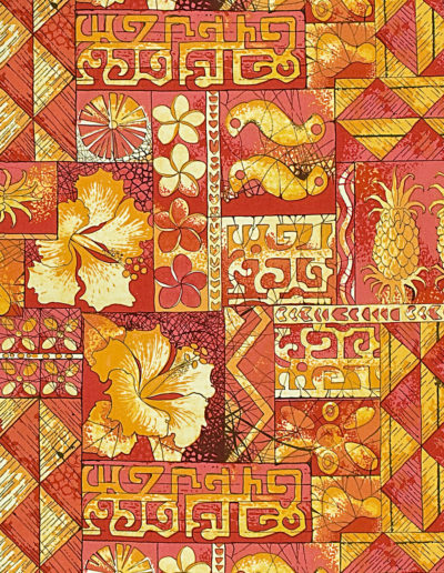 Alfred Shaheen - Tapa Tapestry