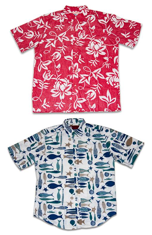 Alfred Shaheen - Pua Lani (Classic) Pareau Hawaiian Shirt